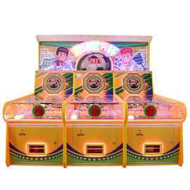 Commercial Hook Electronic Pinball Game Machine 3 بازیکن یک سال ضمانت