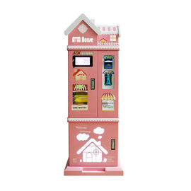 Pink House Games Arcade Machines Secure Coin Changer / Bill to Coin Exchange Exchange Machine